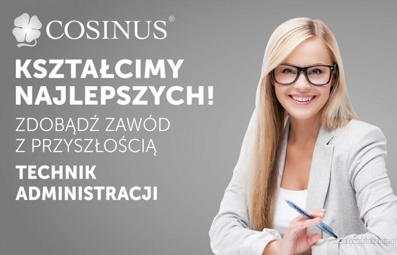 Administracja w Szkole Cosinus.Rekrutacja trwa!