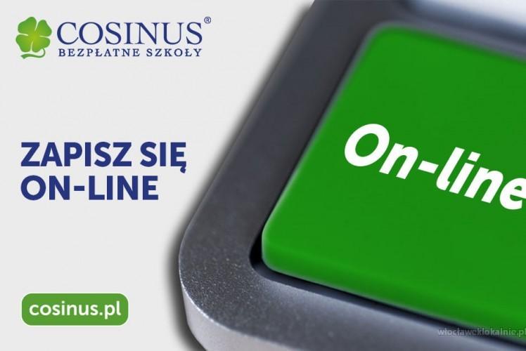 Szkoła Cosinus - Rekrutacja trwa! Zapisz się już dzisiaj!
