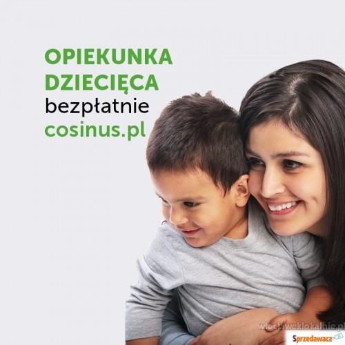 Opiekunka dziecięca w Szkole Cosinus we Włocławku.