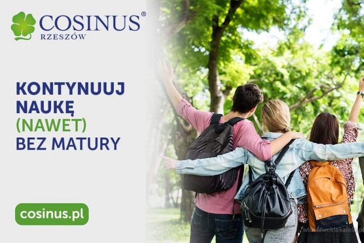 W Szkoła Cosinus  Rekrutacja trwa!Nie wymagamy Matury! Zapisz się już dzisiaj a naukę rozpoczniesz od września!